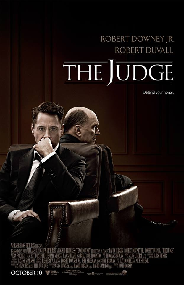 The Judge 2014 film poster