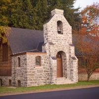 Stone Chapel near the Center of Rowe