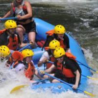White Water Rafting at Zoar Outdoor