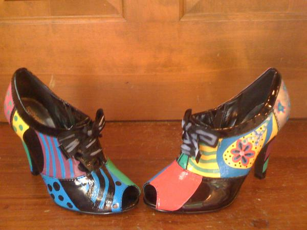 Shoes from the ArtWalk