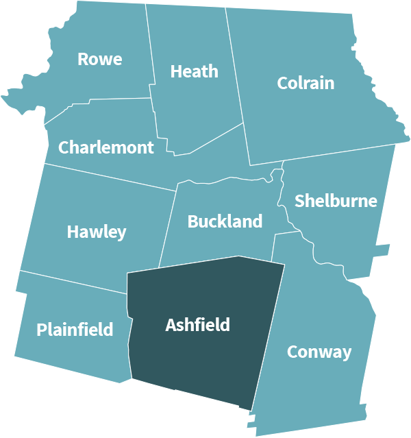 Ashfield map