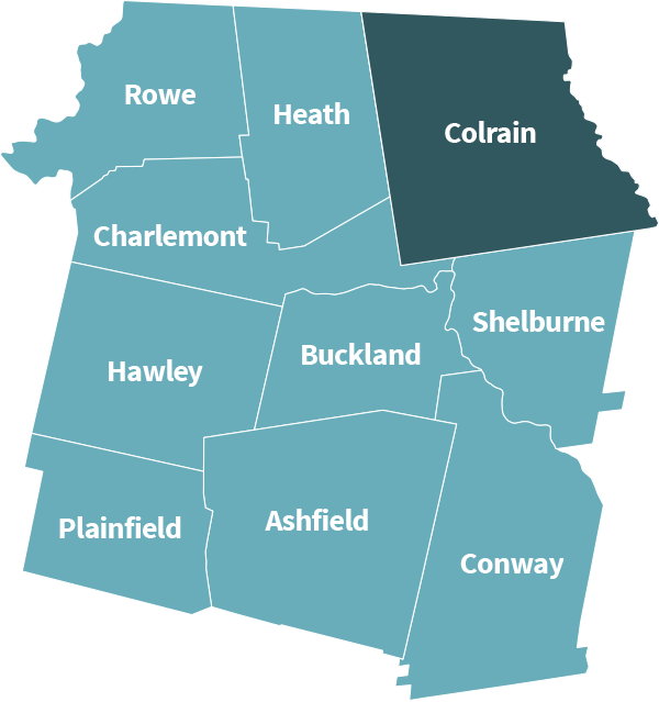Colrain map